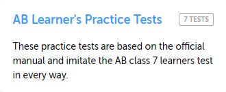 Alberta Practice Test