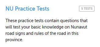 Nunavut Practice Test